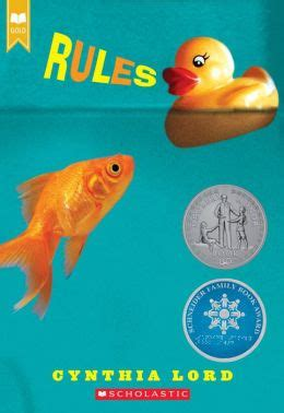 Book reports on rules by cynthia lord